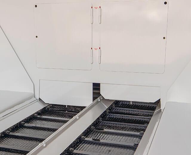 "Roadtec Highway Class Asphalt Pavers 14"" Conveyor Opening"