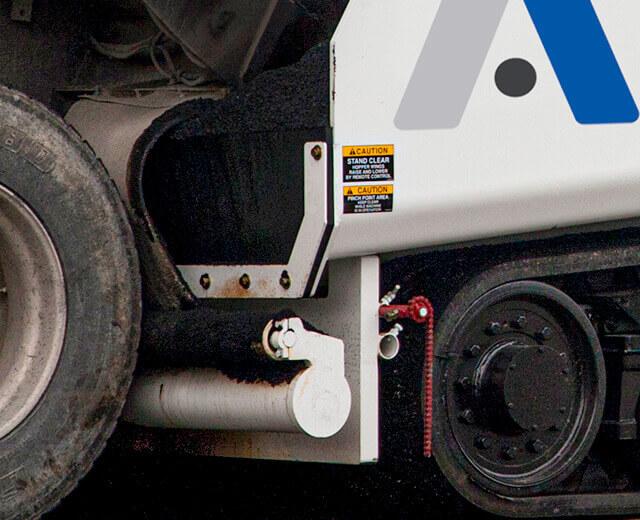 Roadtec Highway Class Asphalt Pavers Solid Push Roller