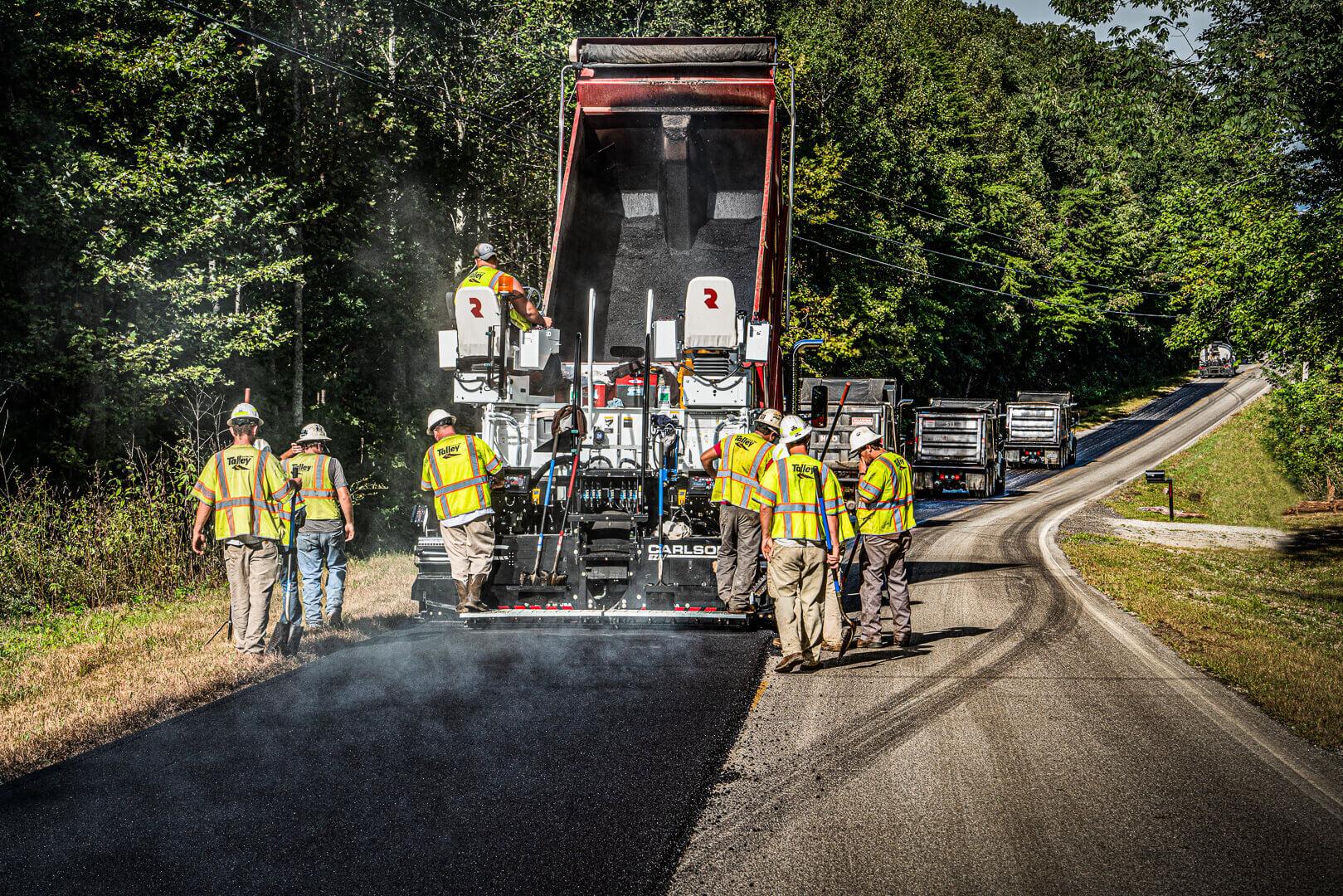 Roadtec RP-170 Highway Class Asphalt Paver