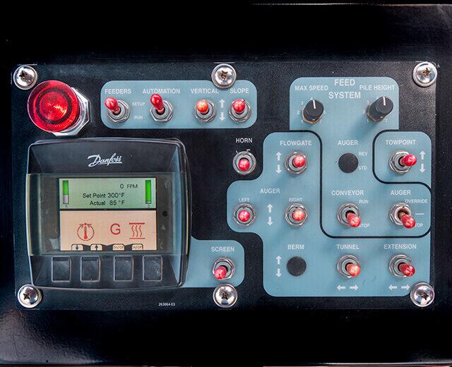 Roadtec S-Screed Control Box