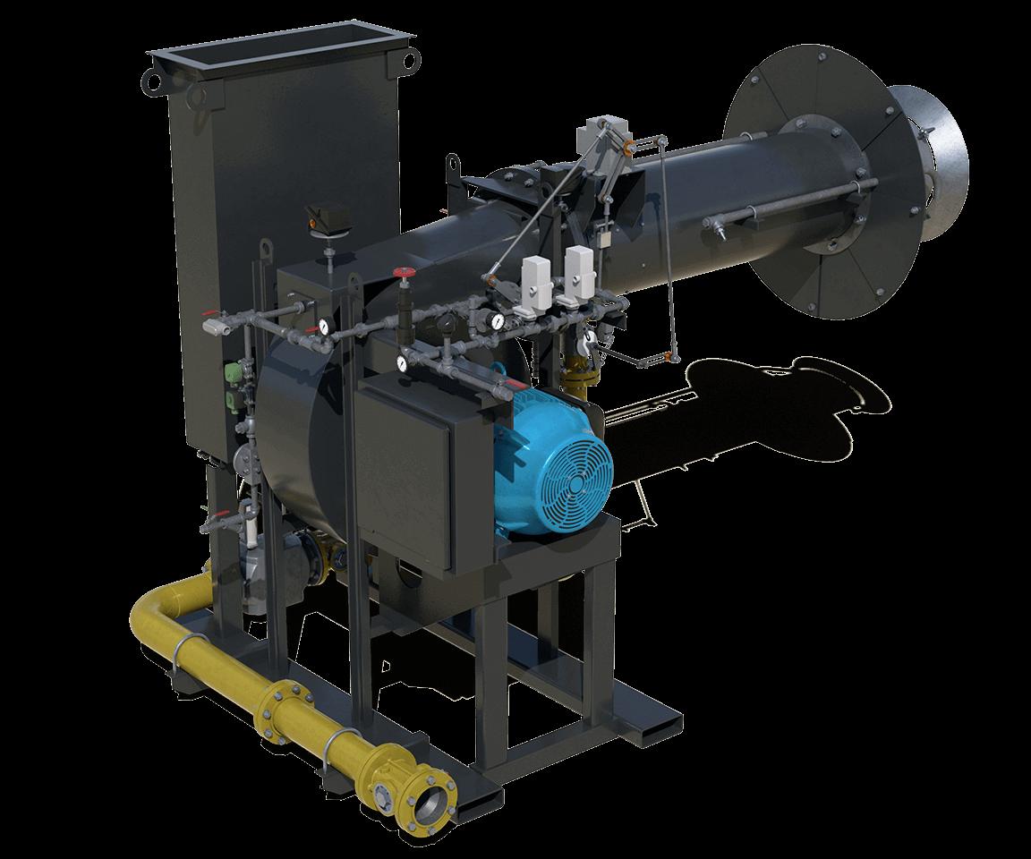 Astec Fury Open-Fired Asphalt Plant Burner for Aggregate Drying