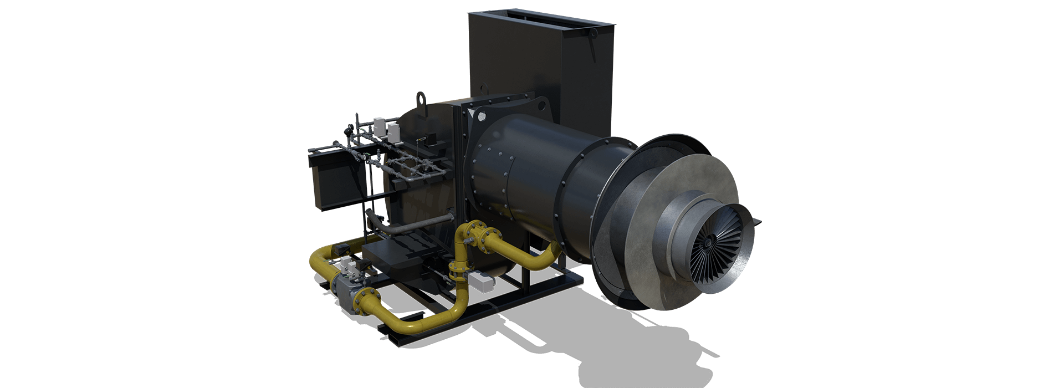 The Phoenix Talon II Burner for Aggregate Drying