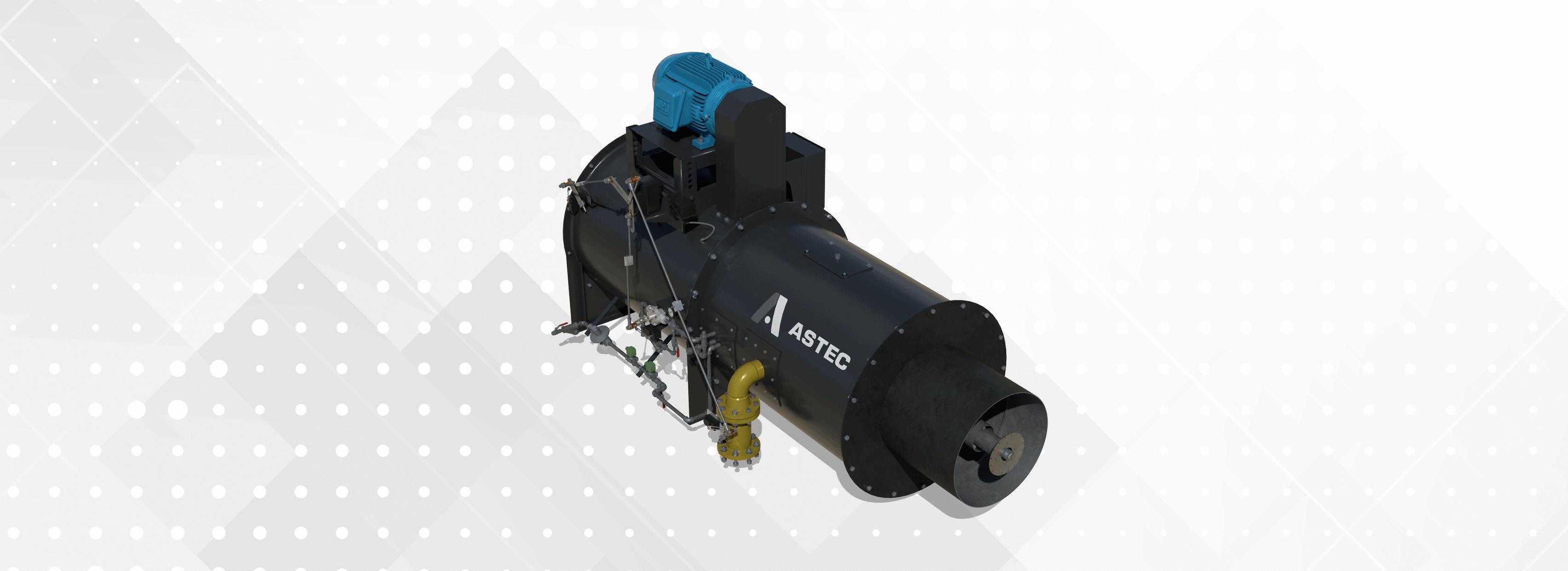 Astec Versa Jet Asphalt Plant Burner for Aggregate Drying