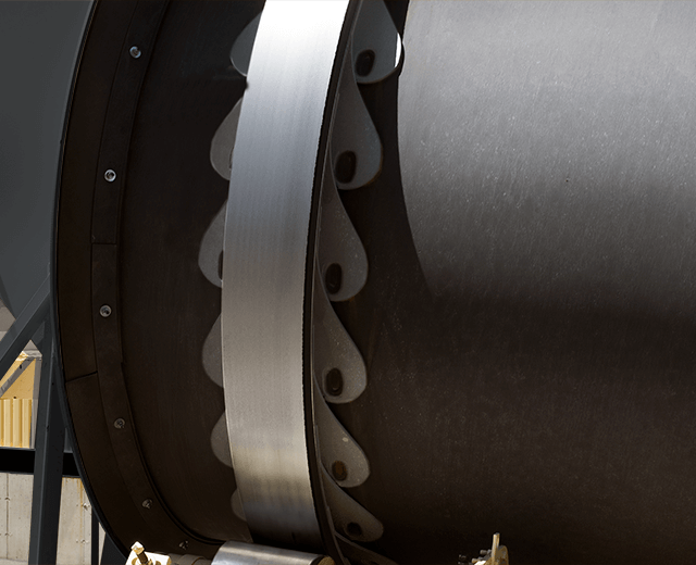 Astec Double Barrel Drum Tires