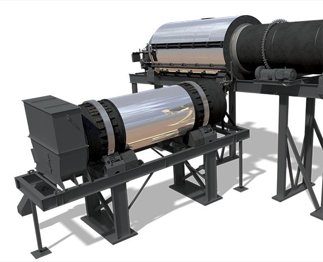 Astec Double Barrel XHR asphalt rotary mixer