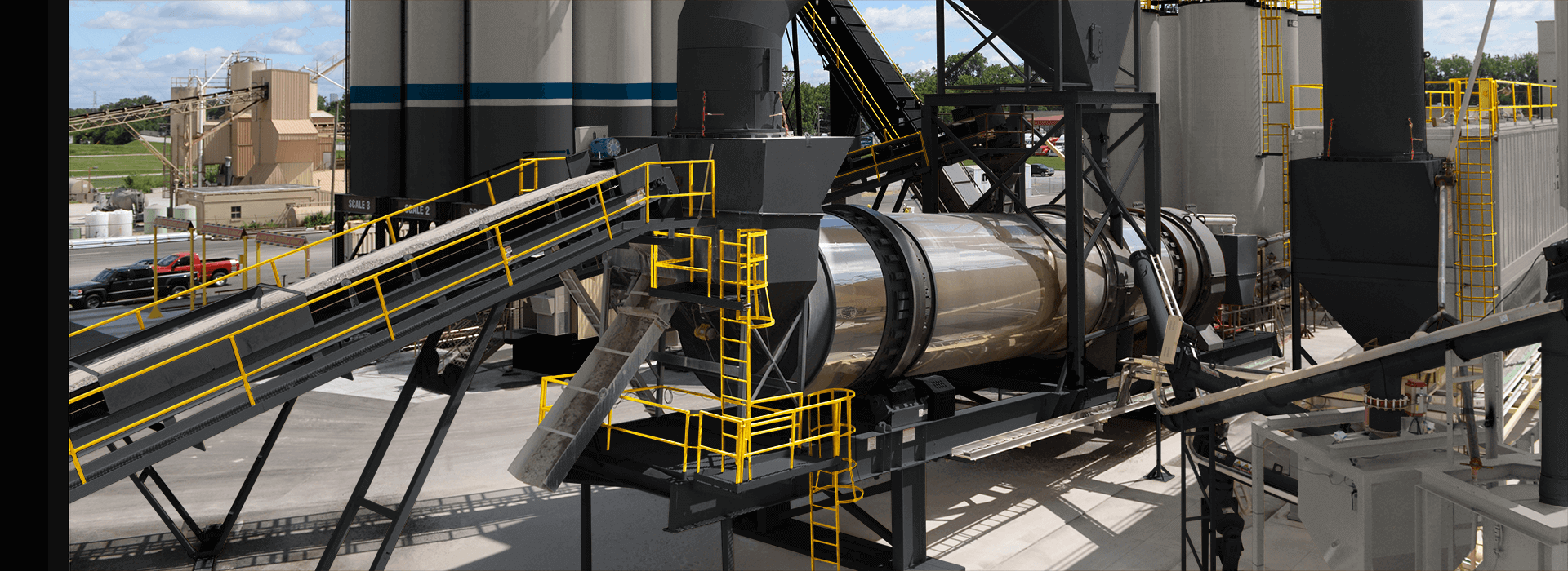 Astec Unidrum Counterflow Drum for Aggregate Drying and Asphalt Mixing