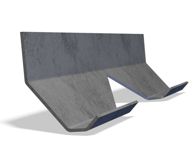 Astec V-Flight with v-shaped notch for better aggregate veiling through the flame