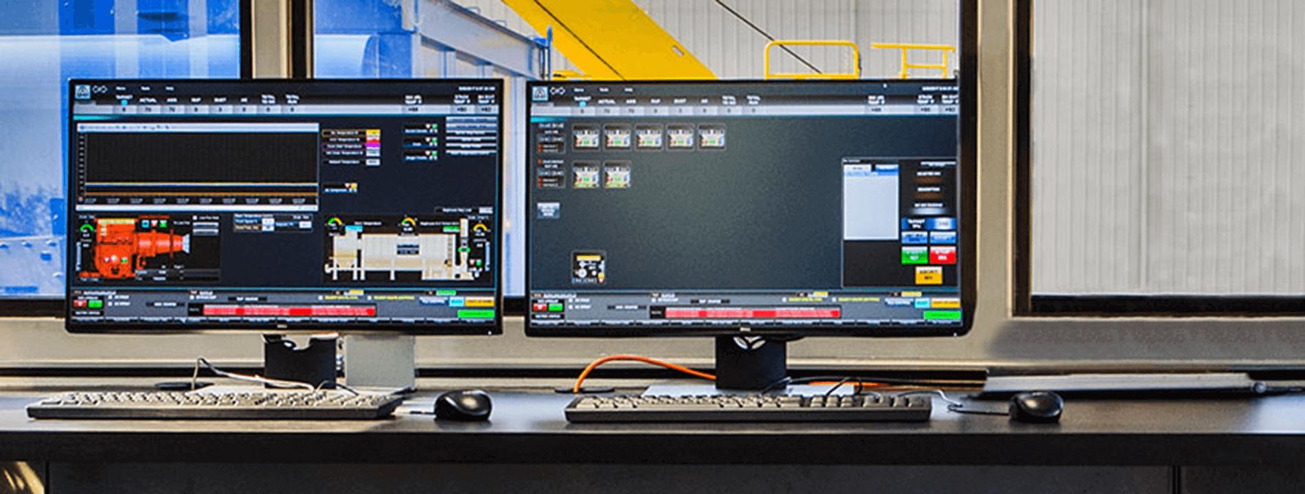 Astec PMIII asphalt plant controls