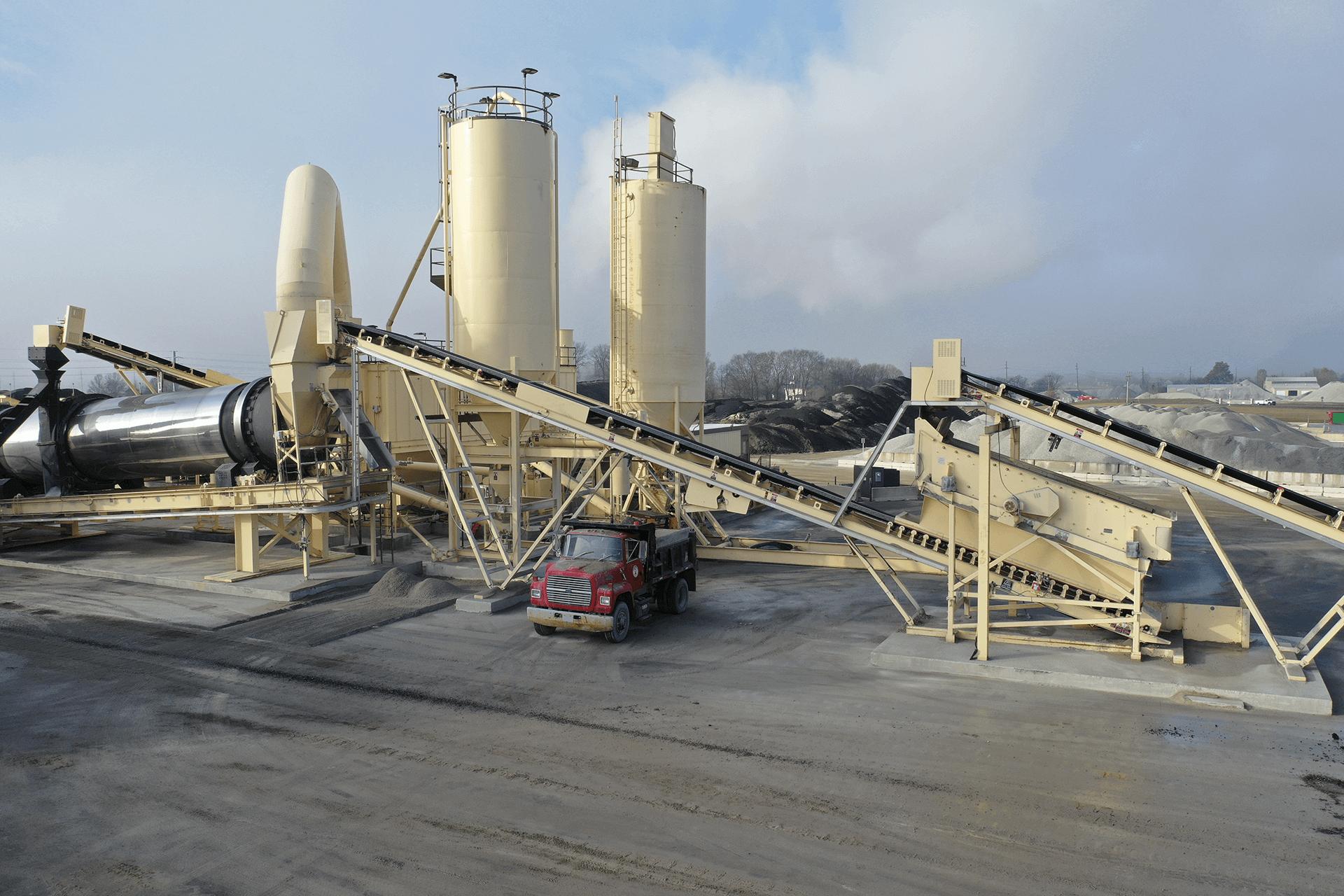 Astec Relocatable Asphalt Plant Aggregate Conveyors