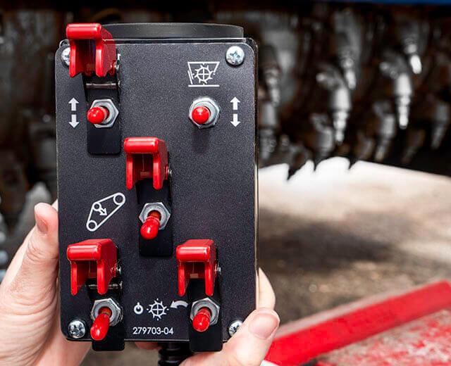 Roadtec RX-505 Cold Planer Drum Index Device