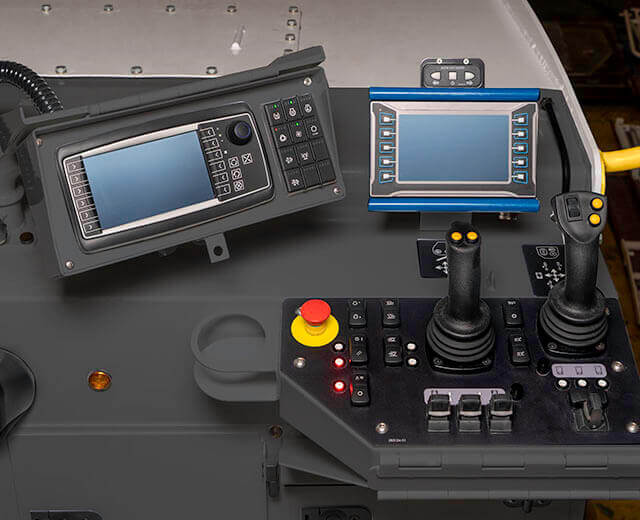 Roadtec RX-505 Cold Planer Simplified Controls