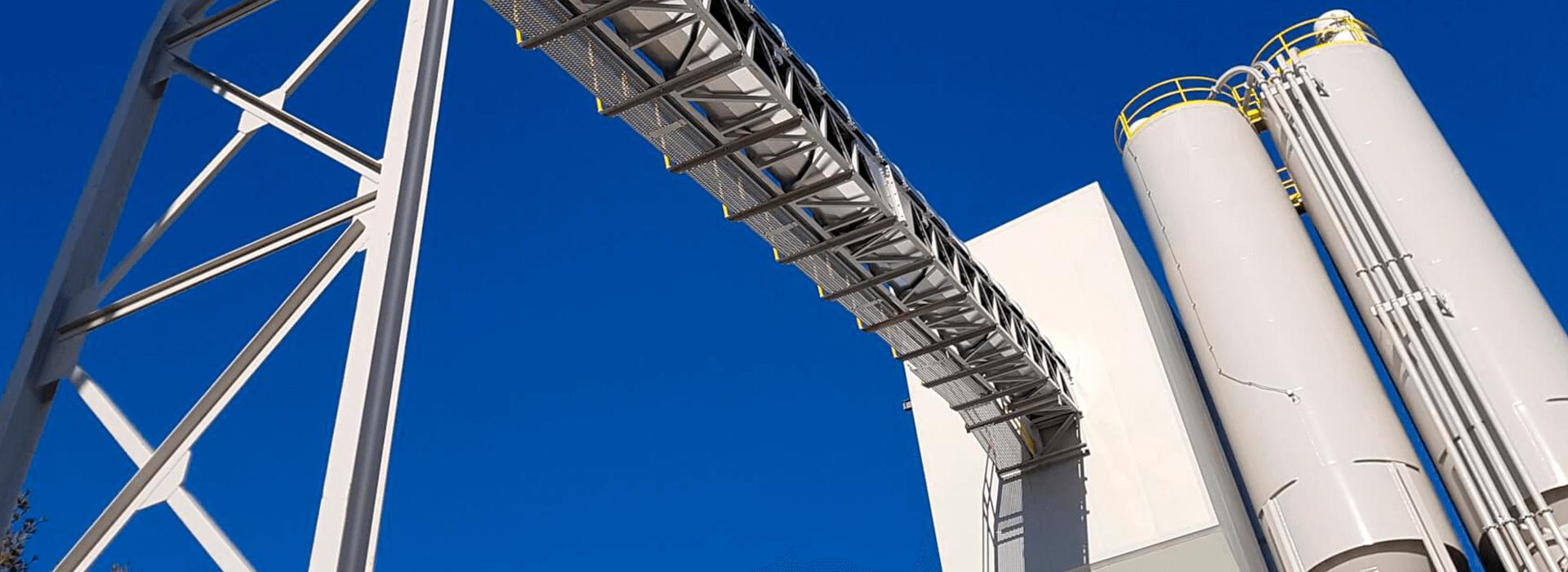 Astec BMH custom concrete plant for the precast industry
