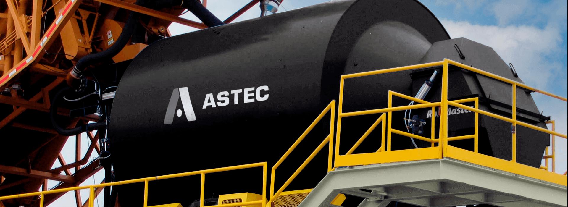 Astec BMH RollMaster Concrete Mixer