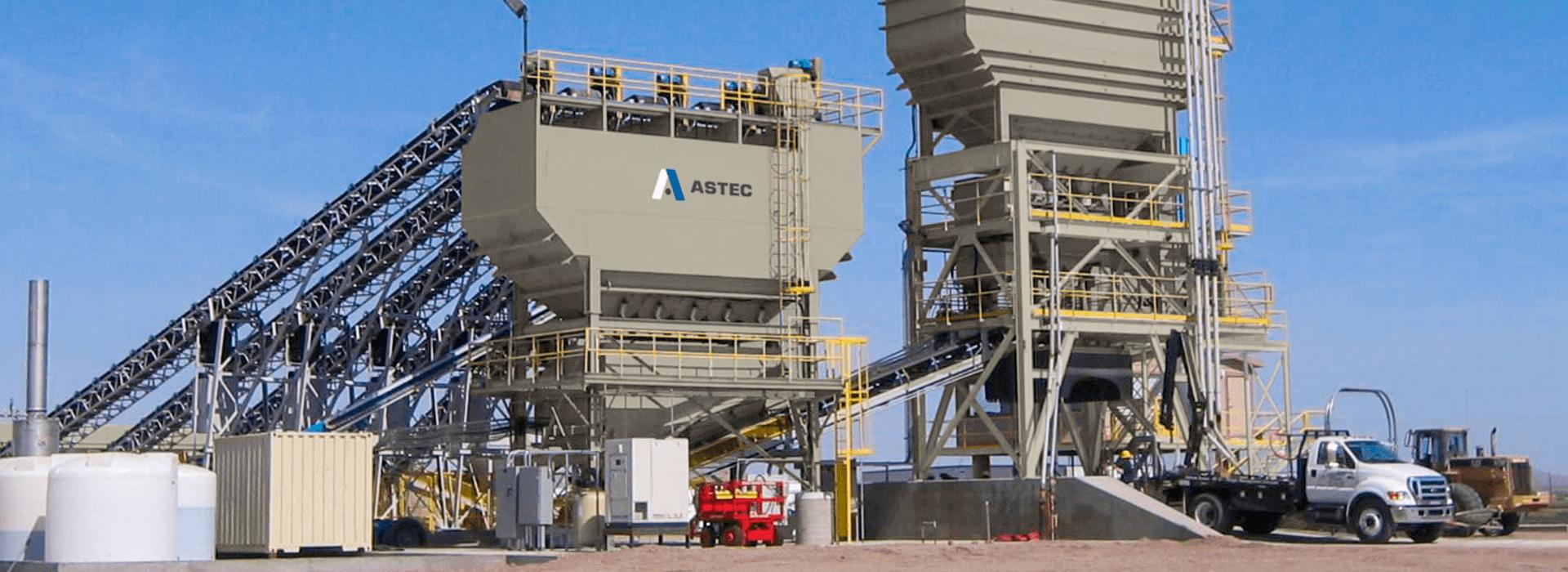 Astec BMH EG Dry Batch Concrete Plant