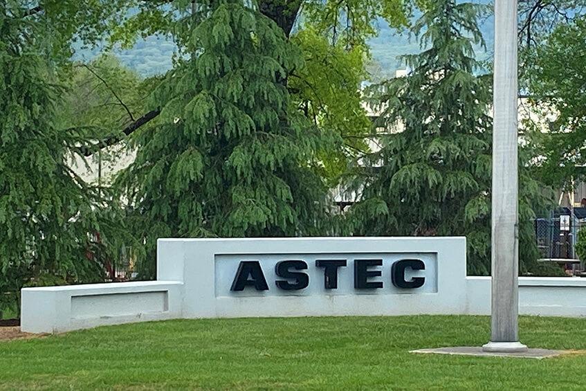 Astec Entrance