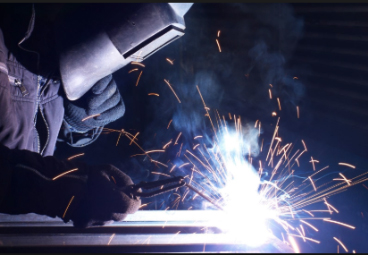Welding Arc / Grinding Sparks