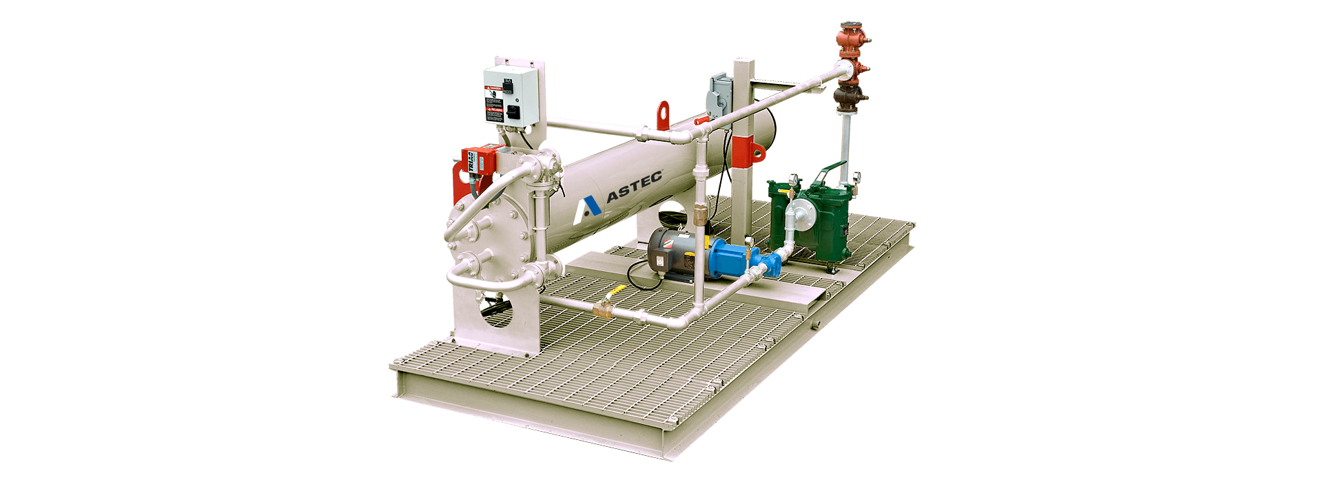 Heatec Fuel Preheater Skid