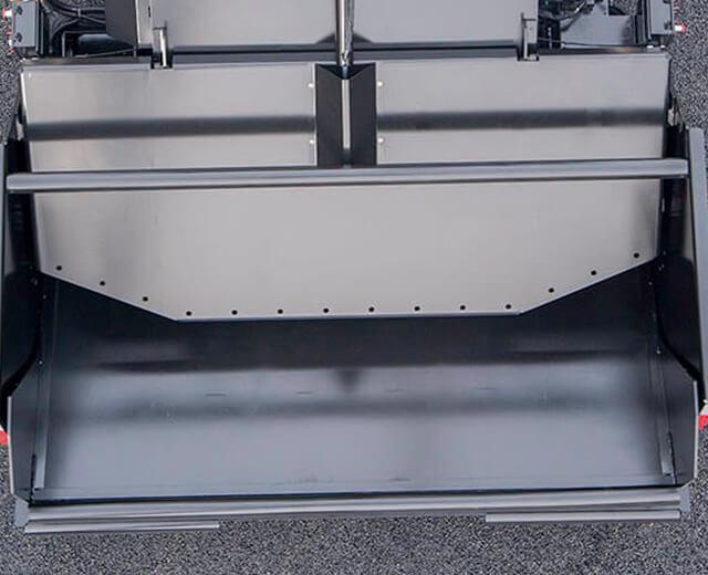 Roadtec Material Transfer Vehicle Quick Material Unloading