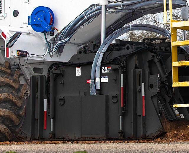 Roadtec SX-5 Stabilizer/Reclaimer High Torque Hydrostatic Cutter Drive