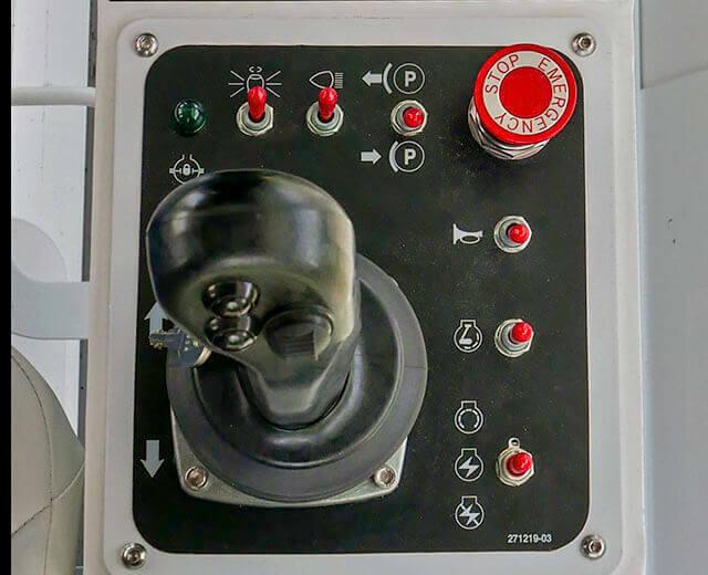 Roadtec SX-5 Stabilizer/Reclaimer Intuitive Controls