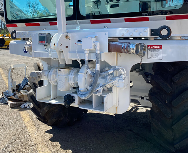 Roadtec SX-5 Stabilizer/Reclaimer Water & Emulsion System