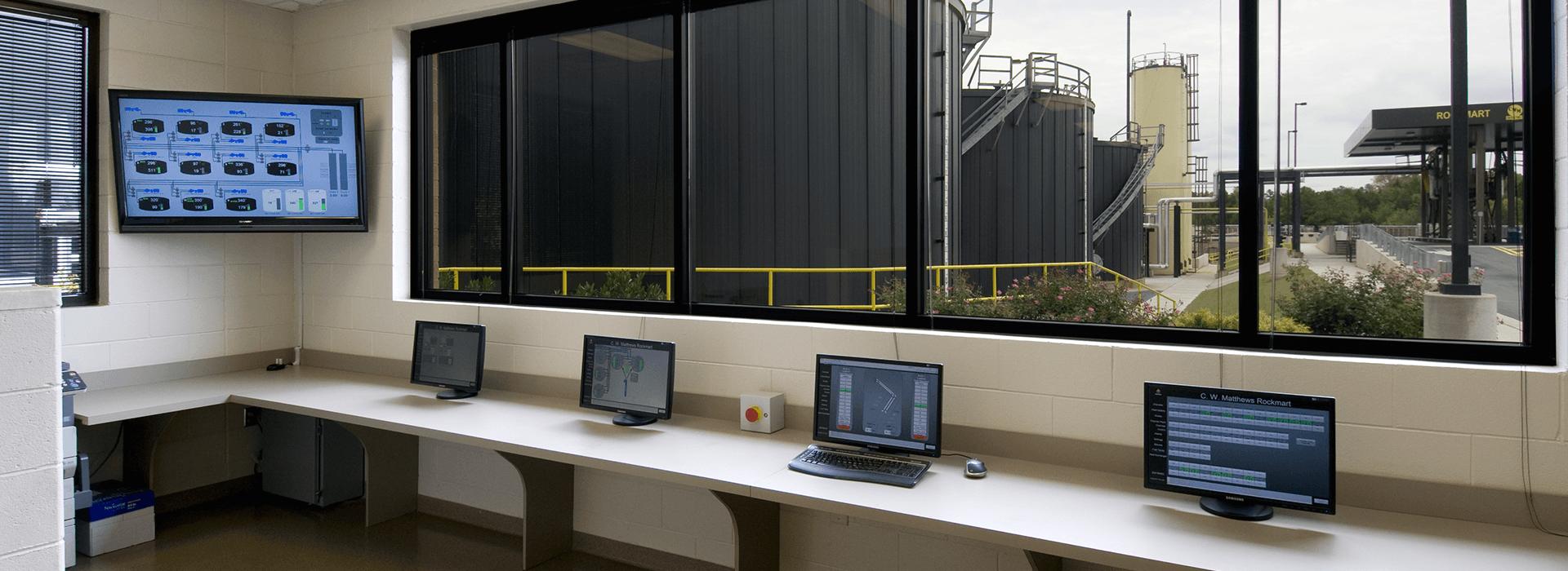 Heatec Asphalt Terminal Controls