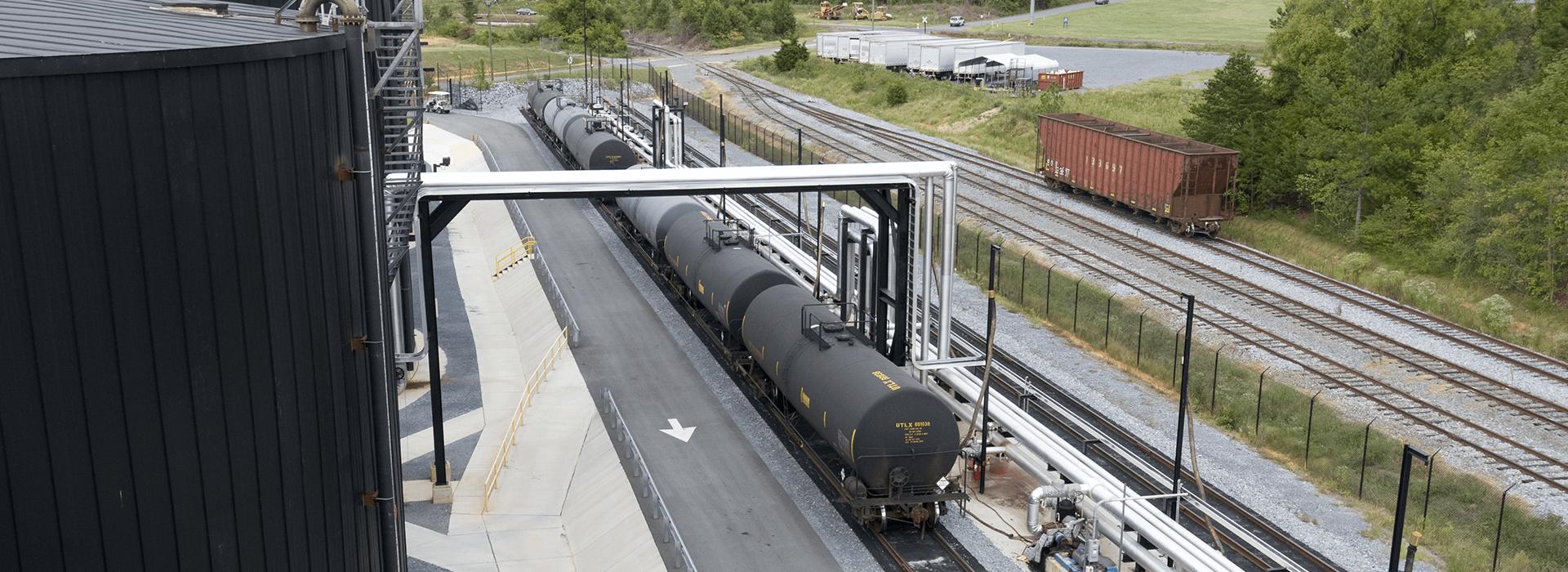 Heatec Rail Car Unloading System